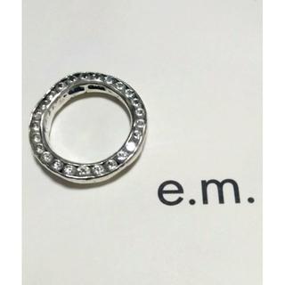 イーエム(e.m.)のe.m. シルバーリング(リング(指輪))