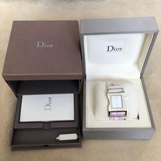 クリスチャンディオール(Christian Dior)の未使用品✨クリスチャンディオール*腕時計*chris 47 steel(腕時計)