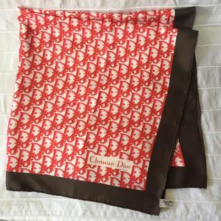 クリスチャンディオール(Christian Dior)のChristianDior クリスチャンディオール スカーフ トロッター シルク(バンダナ/スカーフ)