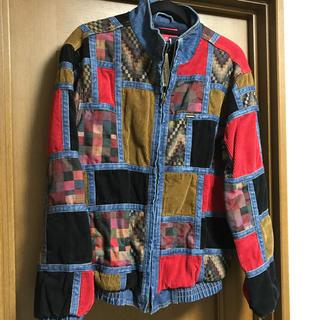 Supreme - supreme corduroy patchwork denim jacket
