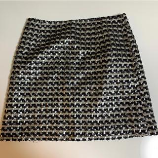 ビアッジョブルー(VIAGGIO BLU)のツイード 台形スカート ビアッジョブルー(ミニスカート)