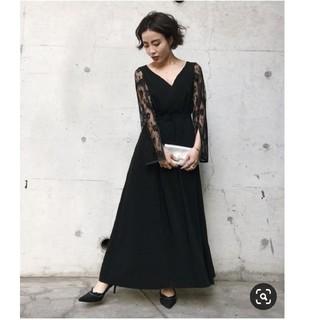 Ameri VINTAGE - ameri vintage♡ レーススリーブドレス新品未使用