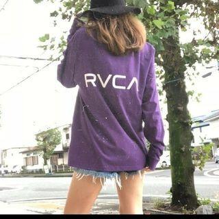ルーカ(RVCA)のRVCAルーカBACK RVCA LS TEEバックロゴロンPPLM(Tシャツ(長袖/七分))