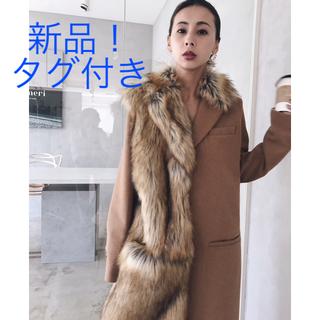 Ameri VINTAGE - 12月1日まで! タグ付き!新品! AMERI ファー ドッキング コート