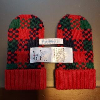 familiar - 【新品・未使用】familiar ミトン型手袋 80~90