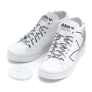 アディダス(adidas)の24.5cm ホワイト adidas インヒール スニーカー(スニーカー)