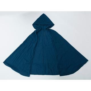 フード付きケープ 紺 コスチューム(衣装)