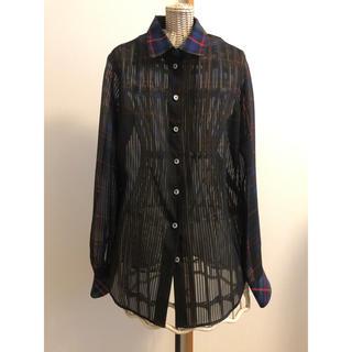ルシェルブルー(LE CIEL BLEU)のルシェルブルー☆チェックシャツ(シャツ/ブラウス(長袖/七分))