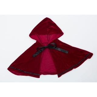 フード付きケープ 深紅 コスチューム(衣装)