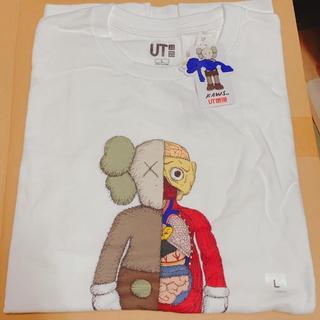 UNIQLO - ユニクロ カウズ KAWS コラボ Tシャツ