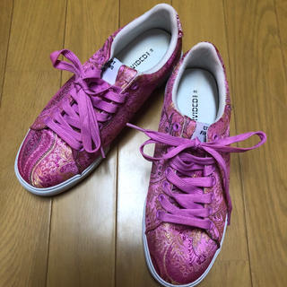 H&M - チャイナ柄 スニーカー サイズ39