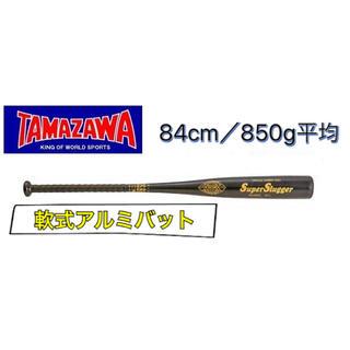 タマザワ(Tamazawa)のTAMAZAWA タマザワ 軟式アルミバット ブラック(バット)