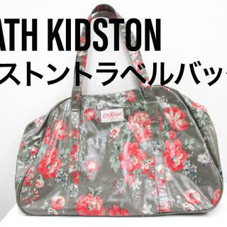 CATH KIDSTON/ボストントラベルバッグ/フラワー花柄/47×31×15