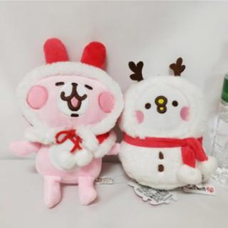 カナヘイの小動物 台湾限定 クリスマスのうさぎとピスケ 2個セット
