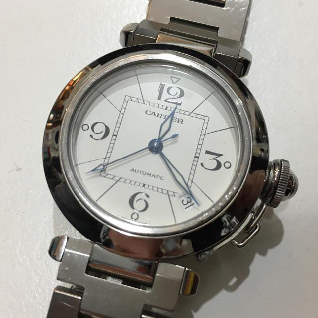 Cartier - 美品! ☆カルティエ☆ パシャC・自動巻き 腕時計 男女兼用の通販