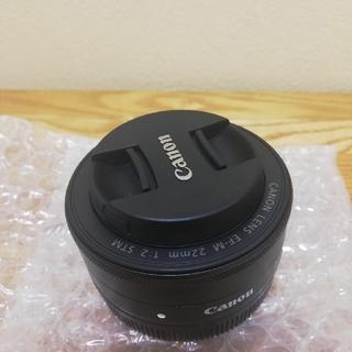 Canon - Canon EF-M 22mm f/2 STM パンケーキレンズ