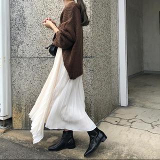 dholic - ponpon アシンメトリースカート