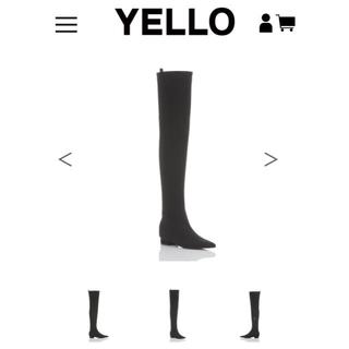 イエローブーツ(Yellow boots)のyellowboots  TOKYO BLACK FLAT LONG(ブーツ)