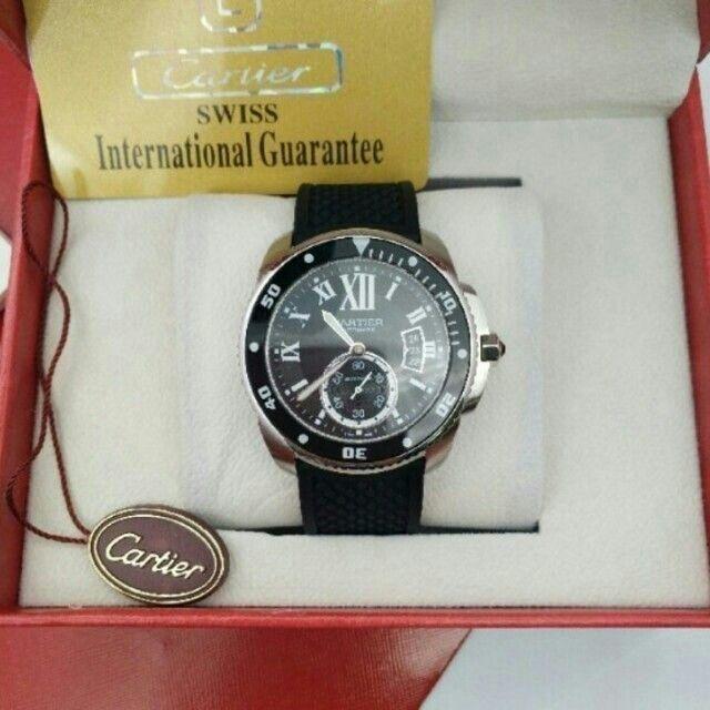 Cartier - カルティエ CARTIER カリブル ドゥ カルティエ ダイバー カーボンの通販
