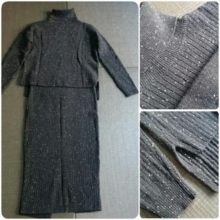 ダブルスタンダードクロージング(DOUBLE STANDARD CLOTHING)のダブルスタンダードクロージング  ニットセーター+ニットスカート 2点セット(セット/コーデ)
