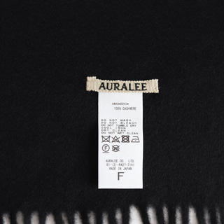 COMOLI - AURALEE (オーラリー) CASHMERE NARROW STOLE