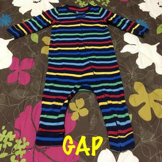 ベビーギャップ(babyGAP)の値下げ!!!【美品】ベビーギャップ ロンパース(ロンパース)