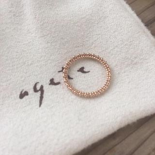 アガット(agete)のsachi様専用(リング(指輪))