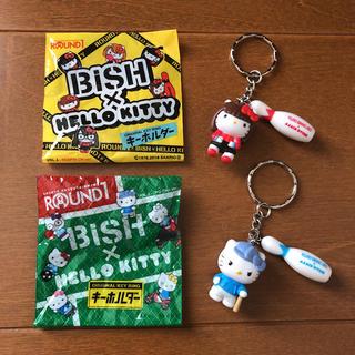 ハローキティ - ☆非売品☆ROUND1 BiSH ハローキティー キーホルダー  ストラップ
