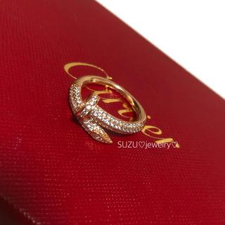 Cartier - 最高級ピンクゴールド✨釘リング❤️