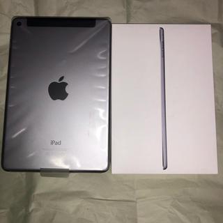 iPad - 美品 iPad mini4  SIMフリー 128GB 付属品完備