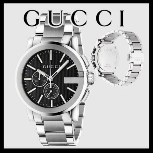 Gucci - 【67%off】GUCCI 腕時計 G-クロノ YA101204の通販