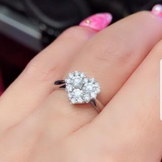 ポンテヴェキオ(PonteVecchio)のポンテヴェキオ K18  ダイヤモンド  ハートリング♡(リング(指輪))
