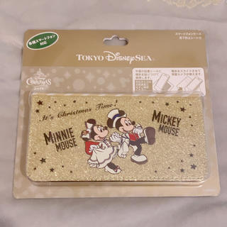 Disney - TDS イッツクリスマスタイム ⋆ 手帳型スマホケース