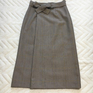 TOMORROWLAND - 【新品】Ballsey チェック柄ハイウエストタイトスカート