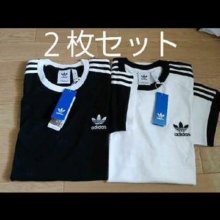adidas - 2枚組 ビッグサイズ Tシャツ adidas originals