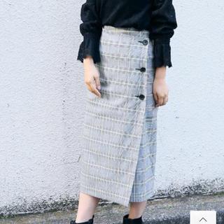 ローリーズファーム(LOWRYS FARM)のLOWRYS FARM☆チェックタイトスカート(ロングスカート)