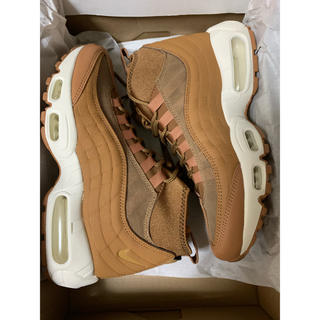 NIKE - NIKE AIR MAX 95 SNEAKERBOOT  ブラウン スニーカー