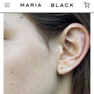 UNITED ARROWS - maria black マリアブラック elipse gold earring