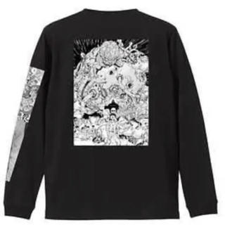 アキラ art exhibition限定T ロンT 黒 XLサイズ