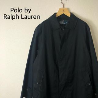 ポロラルフローレン(POLO RALPH LAUREN)の【希少】Polo by Ralph Lauren コート  ネイビー ライナー付(ステンカラーコート)
