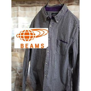 BEAMS - 【美品】 BEAMS ビームス メンズ チェック 長袖 シャツ