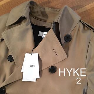 ハイク(HYKE)のさかぐち様 専用 HYKE トレンチコート タグ付き 美品 hyke (トレンチコート)