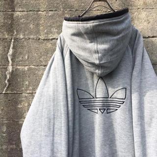 adidas - 90's adidas リバーシブル ナイロン×Tシャツ地 ジャケット