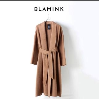 Drawer - BLAMINK キャメルガウンコート