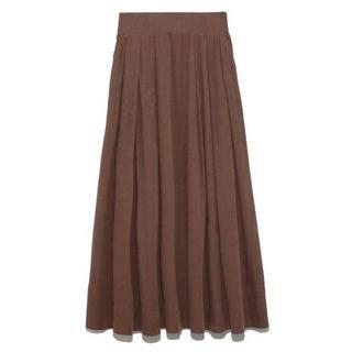 Mila Owen - Mila Owen 細コールセットアップスカート