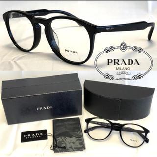 PRADA - PRADA プラダ メガネ フレーム VPR19S-F 1AB-101 ブラック