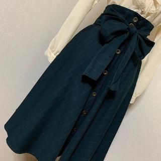 axes femme - 値下げ 再出品 axes  コルセット風ベルト付きスカート