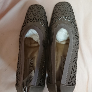 靴 新品未使用 21.5 大幅値下げ(バレエシューズ)