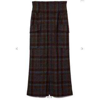 フレイアイディー  新作 大人気完売品 ハイウエストAラインスカート