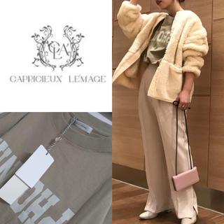 CAPRICIEUX LE'MAGE - 新品 カプリシューレマージュ Tシャツ